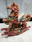 CHRISTMAS+ROCKING+HORSE+MUSIC+BOX+PLAYS+%22JINGLE+BELLS%22++--+Pre-owned