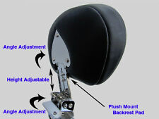 Adjustable & Detachable Sissy Bar/Backrest - Yamaha Road Star 1600 1700