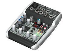 BEHRINGER XENYX Q502-USB MIXER AUDIO / DJ 5 CANALI COMPATTO CON USB GAR.ITALIA