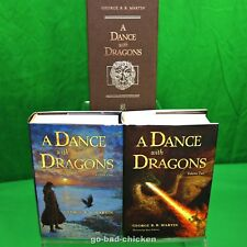 A Dance With Dragons by George R.R. Martin Subterranean Press Signed by Artist