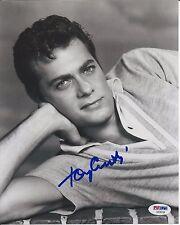 TONY CURTIS Signed Black & White 8 x10 PHOTO with PSA/DNA COA