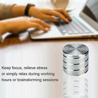 Unique Kinetic Spinning Desk Toy Anti-stress Reliever Fidget Finger Toys Sp D3T7