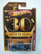 Hot Wheels Cars Of The Decades The 30s NEET STREETER #04/32 New in Packet 2011