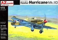 AZ Models 1/72 HAWKER HURRICANE Mk-IID British WWII Fighter