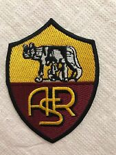 AS Roma Football Club Badge Iron on Sew On Embroidered Patch Badge N-356