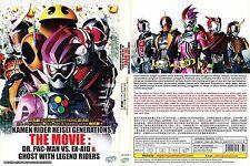 LIVE ACTION DVD~Kamen Rider Heisei~Dr.Pac-Man VS Ex-Aid&Ghost~Eng sub FREE SHIP
