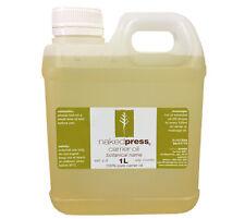 1L - ALMOND SWEET OIL (SPAIN) - 100% PURE - (COLD PRESSED) - PREMIUM GRADE