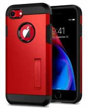 for Apple iPhone 8 / 7 I Spigen Tough Armor 2nd Gen Double Layered Case Cover Red