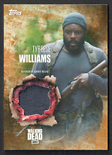 THE WALKING DEAD SEASON 5 COSTUME RELIC CARD RUST PARALLEL Tyreese Shirt 20/99