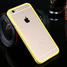 For iPhone SE 5 6 6s 7 Plus Luxury Bumper Case Cover Soft Clear Frame Silicone