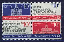 ESTADOS UNIDOS/USA 1974 MNH SC.1543/1546 1st.Continental Congress