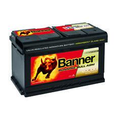 BANNER Running Bull AGM Autobatterie 12V 80AH VRLA Start Stop Batterie 78Ah