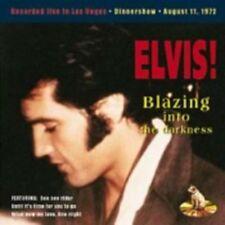 Elvis Presley - BLAZING INTO THE DARKNESS - 11th Aug 72 - New Original Mint CD