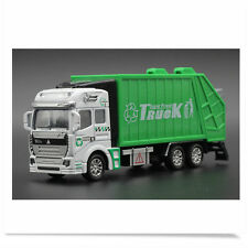 Garbage Truck Trash Bin Vehicles Diecast Model Car 1:32  Toy for Kids Boys Gift