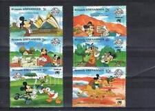 Serie Disney postfris MNH Grenada: Mickey Donald Goofy (dis049)