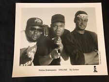 KRS-ONE/SLY & ROBBIE—1989 PUBLICITY PHOTO