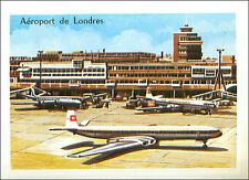 IMAGE CARD Aéroport de Londres-Heathrow Airport London Angleterre England UK 60s
