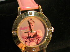 Barbie Mattel Watch with Pink Band