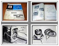 IHC 433 533 633 V/E Werkstatthandbuch Getriebe 1975 Reparaturanleitung