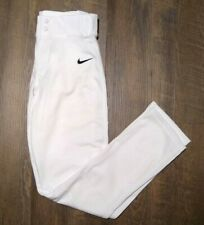 Nike Pro Vapor Baseball Pants 747244-100 White Mens S Small 31 Inch Inseam NWT