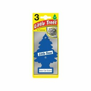 Little Trees Triple Pack, New Car Scent, By Saxon