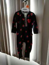 Bonds Zip Wondersuit (Heart Of Hearts Black) - Size 00 NWT