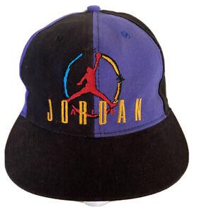 VTG Nike Air Jordan 8s | 90s SnapBack | JumpMan Logo | Aqua 8s | Kids