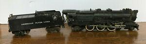 American Flyer Lines  Locomotive Engine and Coal Tender # 316