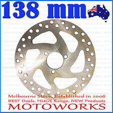 138 mm Brake Caliper Disc Disk Rotor PIT PRO Trail 49cc Quad Dirt Bike ATV Buggy