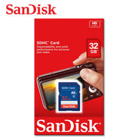 SanDisk 32GB Class 4 SDHC UHS-I Flash Memory SD Card For Camera HD Video