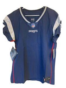 NFL Pro Patriots Plain Football Jersey Mens Size 44 MSRP $325.00 NEW