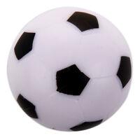Petit Football Baby-foot En Plastique Dure Table Jeu Jouet noir blanc Z3F8