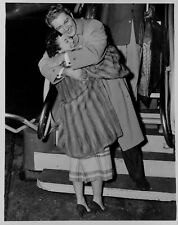 1953 LIBERACE Arrives in Twin Cities Press Photo