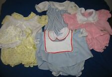 Vintage Cabbage Patch Kids Doll Clothes Dress Panties Clothing Outfit Lot Nice