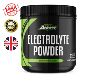 Electrolyte Powder 250g Premium Unflavoured Electrolytes