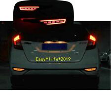 For Honda Fit Jazz 2018 2019 LED Rear Fog Lamp Bumper LED Brake Light