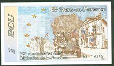 BILLET DE  1 EURO 50 ème ANNIVERSAIRE LIBERATION TRANS EN PROVENCE  1994   N°16