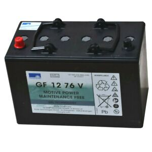 Exide GF Sonnenschein GEL-Batterie Dryfit Traction Block GF 12076 V wartungsfrei