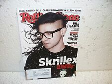 Rolling Stone Magazine March 27 2014 Elton John Beck