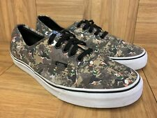 RARE🔥 VANS x Nintendo Duck Hunt 8 Bit Authentic Sz 11.5 Men's Camo Game Over LE