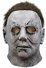 Michael Myers Mask 1978 Halloween Latex Full Head Adult Size Fancy Dress USA