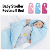 Universal Baby Footmuff Pushchair Windproof Stroller Seat Soft Cushion   9