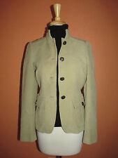 ZARA Womens Size S Khaki Military Inspired Blazer Jacket