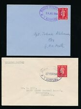 Poland Ww2 1941-42 Fpo 1st Corps Oval Official Scotland.2 Items