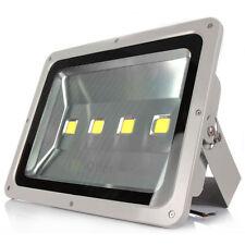 Faro led esterno 200W watt 4 lampade fari faretti faretto luce bianca con staffa
