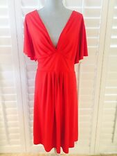 WOMAN'S  DRESS AWESOME SEXY SIZE 2X RED SHORT SLEEVES BEAUTIFUL DETAILS