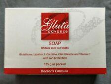 Gluta Advance Soap 135g Doctor's Formula Whitens Skin in 2 weeks