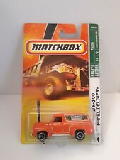 Matchbox Ford F-100 Panel Delivery Collector No.64 Orange Car 1 of 6