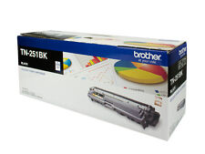Brother Genuine TN-251BK BLACK Toner HL3150CDN HL3170CDW MFC9140CDN 2.5K Pages