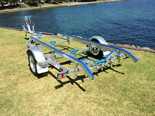 AL4.8M13 Aluminium Boat/ Tinny Trailer, suits Boats up to 5.1m, Galvanised